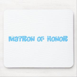 Matrona del honor tapetes de ratones