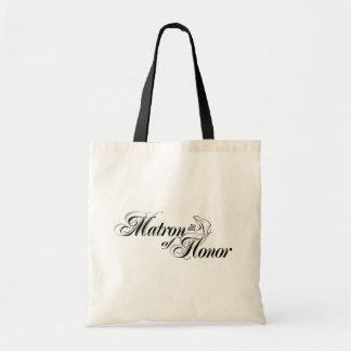 Matrona del tote del honor bolsas