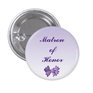 Matrona floral de la primavera púrpura del Pin del