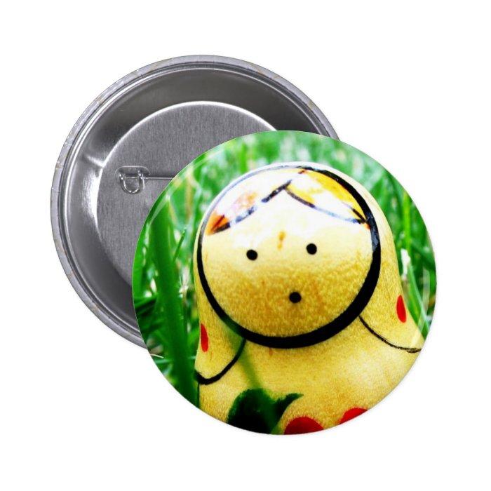 Matroshka (Nesting Doll) Button