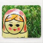 Matroshka Ukrainian Folk Art Mousepad