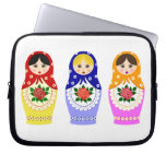 Matryoschka dolls laptop sleeve