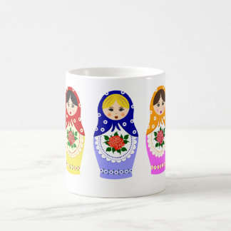 Matryoschka dolls mugs