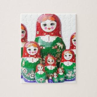 Matryoshka - матрёшка (muñecas rusas) puzzle