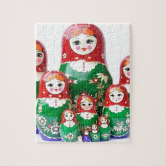 Matryoshka - матрёшка (Russian Dolls) Jigsaw Puzzle