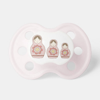 Matryoshka Binki Baby Pacifier