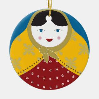 Matryoshka Christmas Tree Ornament
