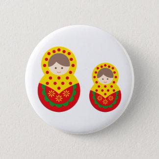 matryoshka die cu tB 2 Pinback Button