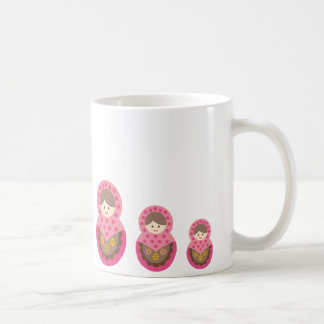 matryoshka die cut B 1 Coffee Mug