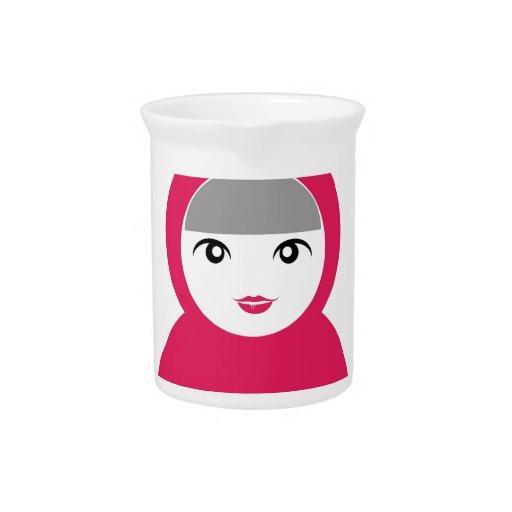 Matryoshka doll beverage pitcher