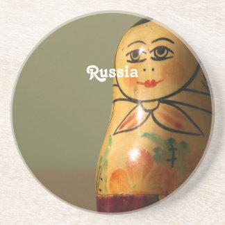 Matryoshka Doll Beverage Coaster