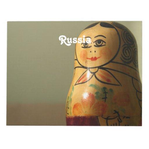 Matryoshka Doll Memo Pads