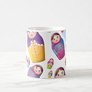 Matryoshka doll - Russian Nested Dolls Pattern Coffee Mug