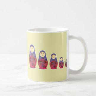 Matryoshka Doll ~ Russian Nesting / Babushka Coffee Mug