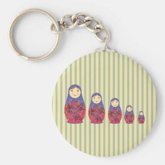 Matryoshka Doll ~ Russian Nesting / Babushka Key Chains