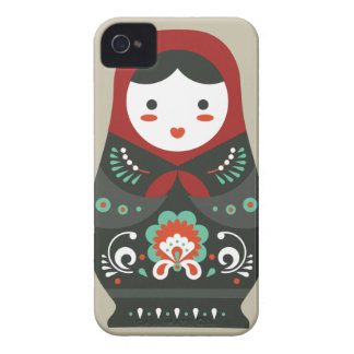 Matryoshka doll / Russian nesting/nested doll iPhone 4 Case-Mate Cases