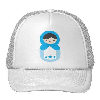Matryoshka Doll - Sweet Blue Trucker Hat
