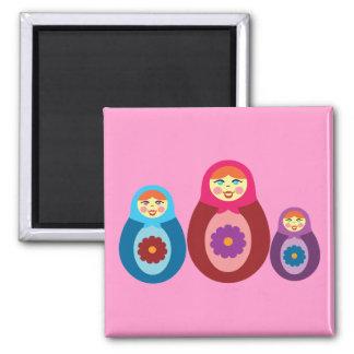 Matryoshka Dolls Refrigerator Magnets