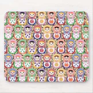 Matryoshka Dolls Mouse Pad