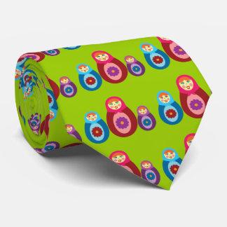 Matryoshka Dolls Neck Tie