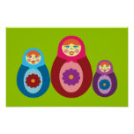 Matryoshka Dolls Poster