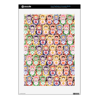 Matryoshka Dolls Skin For The PS3 Console