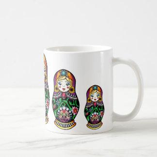 Matryoshka Nesting Doll Mug