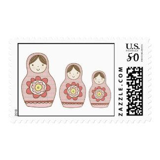 matryoshka nesting dolls postage
