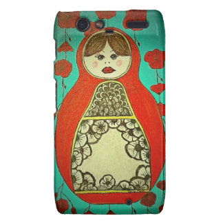 matryoshka phone case motorola droid RAZR cases