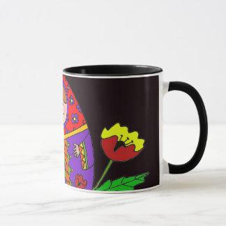 Matryoshka Pysanka Ukrainian Folk Art Mug