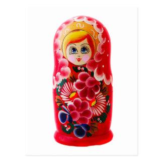 Matryoshka (Russian doll) posrcard Postcard
