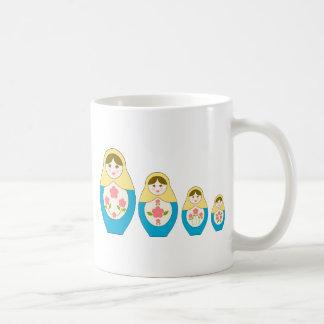Matryoshka Russian Nesting Dolls Coffee Mug