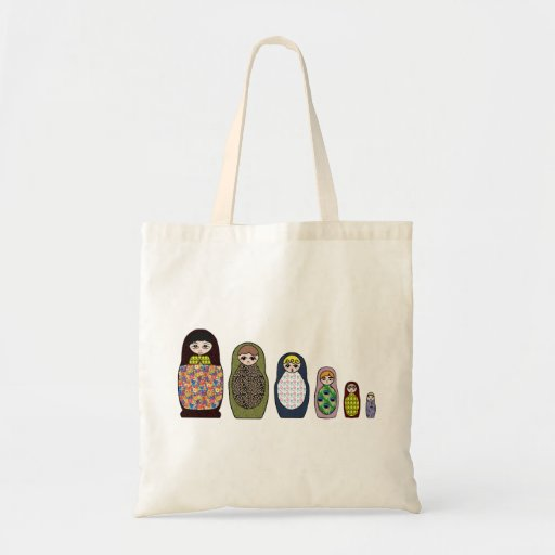 Matryoshka Tote Bags