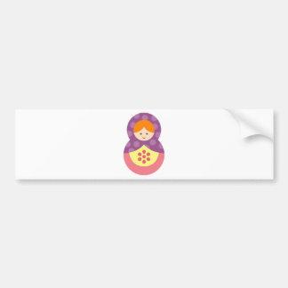 MatryoshkaA15 Bumper Sticker