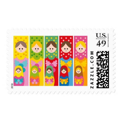 MatryoshkaBookmark Stamp