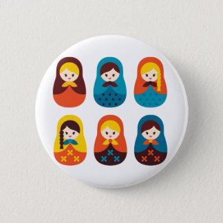 MatryoshkaNew1 Pinback Button