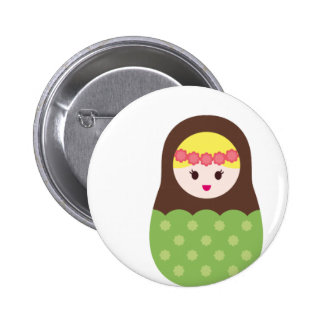 MatryoshkaNew3 Pinback Button
