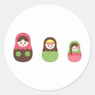 MatryoshkaNew3 Stickers