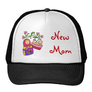 Matryoshka's Baby New Mom Mesh Hat