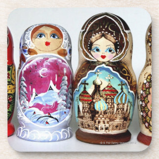 Matryoshkas Drink Coaster