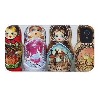 Matryoshkas iPhone 4 Case-Mate Carcasa