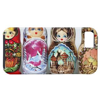 Matryoshkas iPhone 5 Case-Mate Protectores