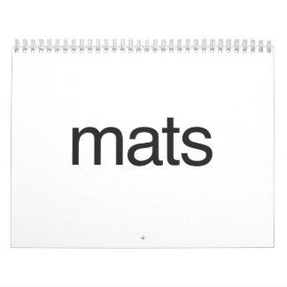 mats calendar