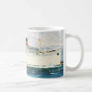 Matson Liner to Hawaii Coffee Mug