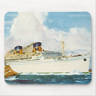 Matson Liner to Hawaii Mouse Pad