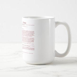 Matson (meaning) coffee mug