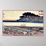 Matsuchiyama por Ando, Hiroshige Ukiyoe Posters