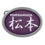 MATSUMOTO BELT BUCKLE