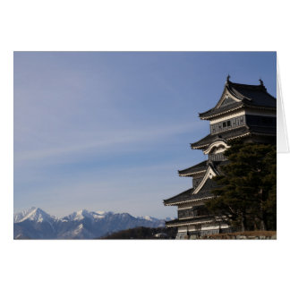 Matsumoto Castle Greeting Card