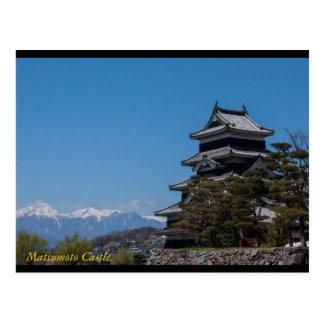 Matsumoto Castle, Matsumoto, Nagano, Japan Post Ca Postcard